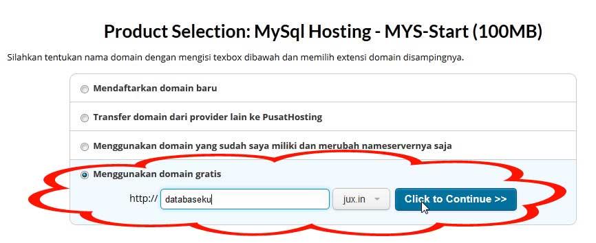 cara-oder-mysql-hosting