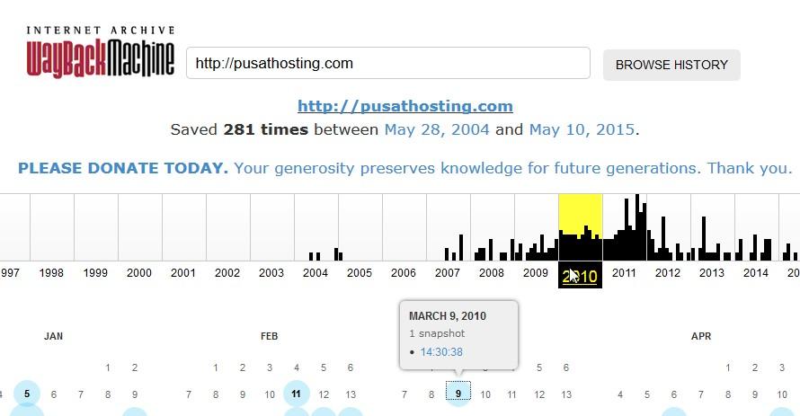 archive.org pusathosting.com 2010
