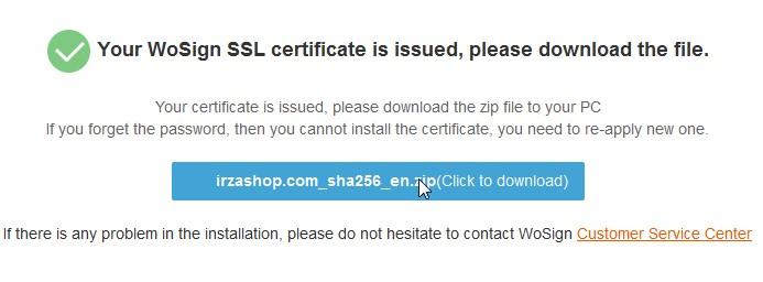 setting ssl selesai download file ssl