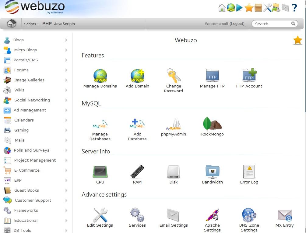 webuzo_home